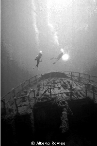 1980's I and my team discovering the Capua ship sunked ab... by Alberto Romeo 